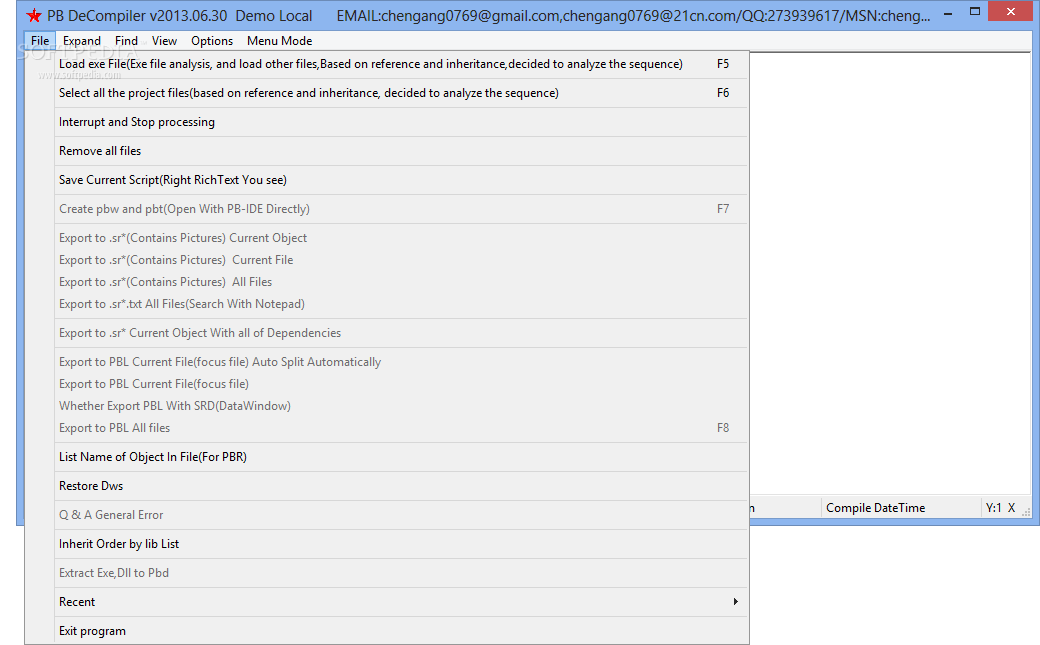 Download PB DeCompiler 2013 06 30
