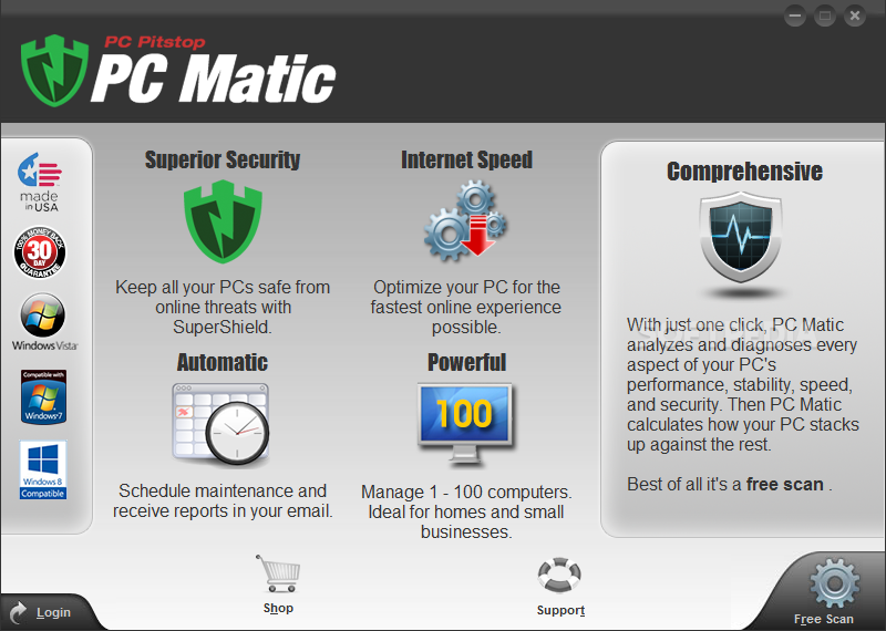 free p&c matic