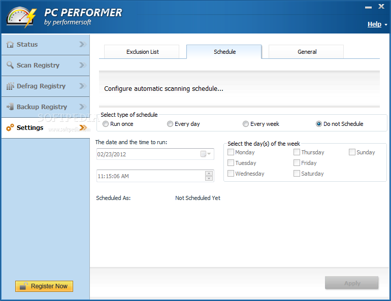 pc performer by performersoft licence key