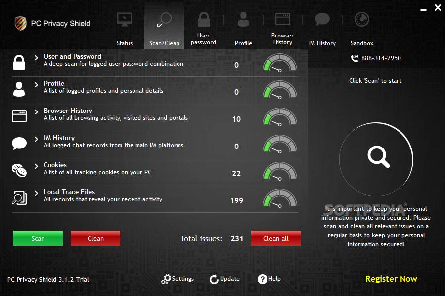 pc privacy shield 3.3.0