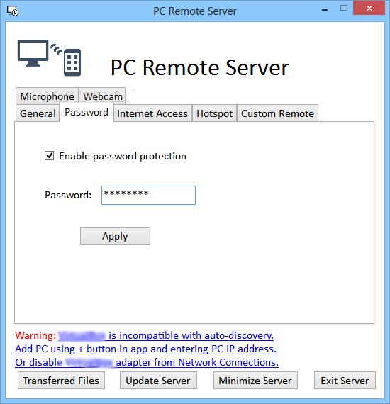 Download PC Remote Server 3 51