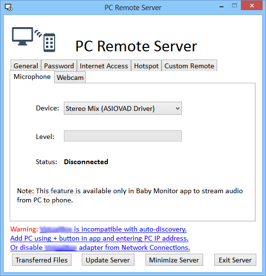 Download PC Remote Server 3 51
