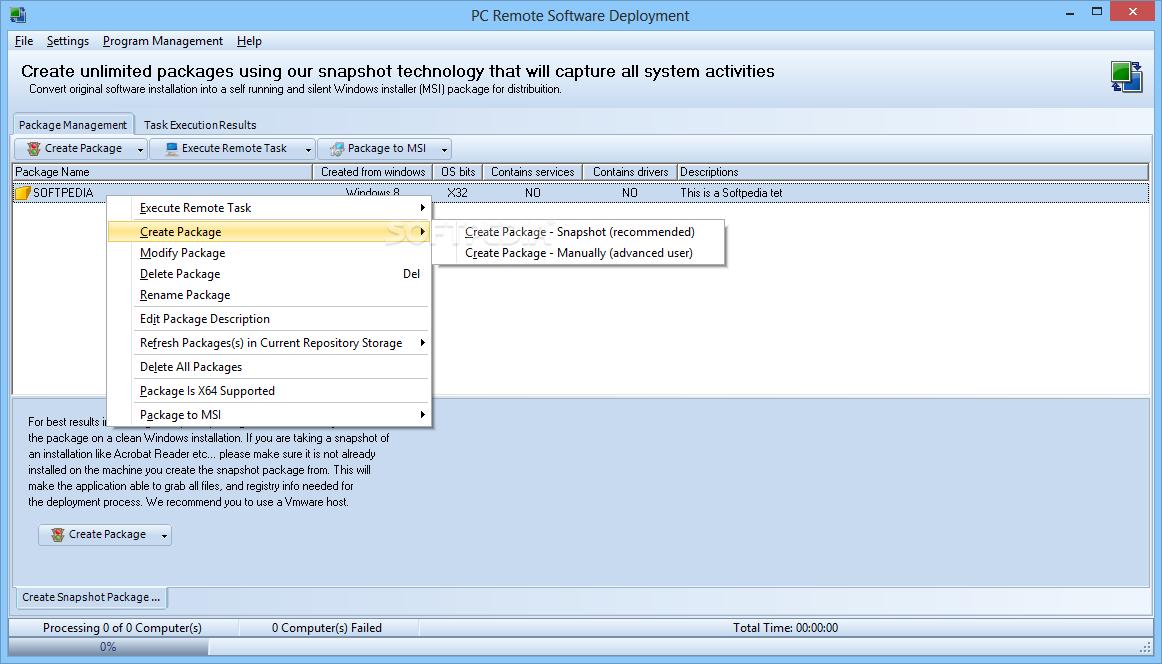 Download PC Remote Software Deployment 6 0 10 102