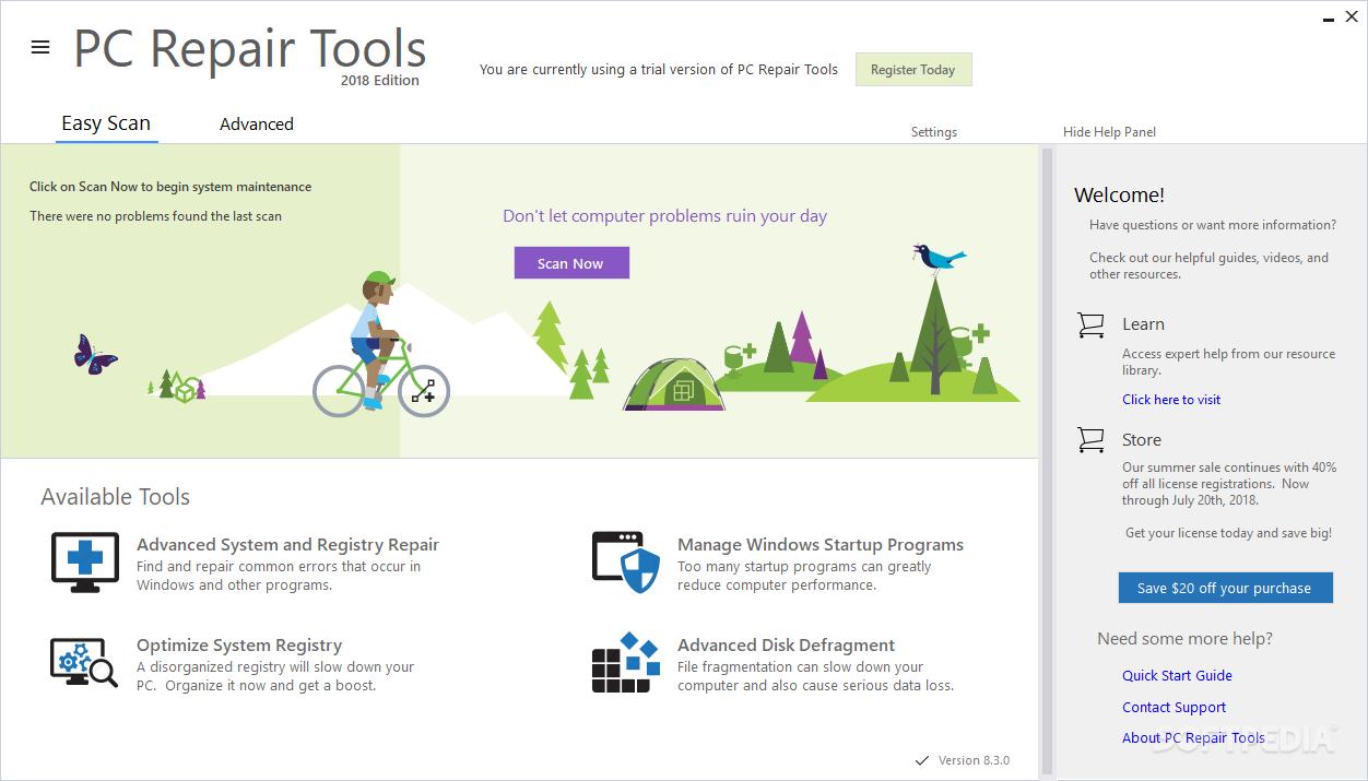 Download Pc Repair Tools 8 3 0