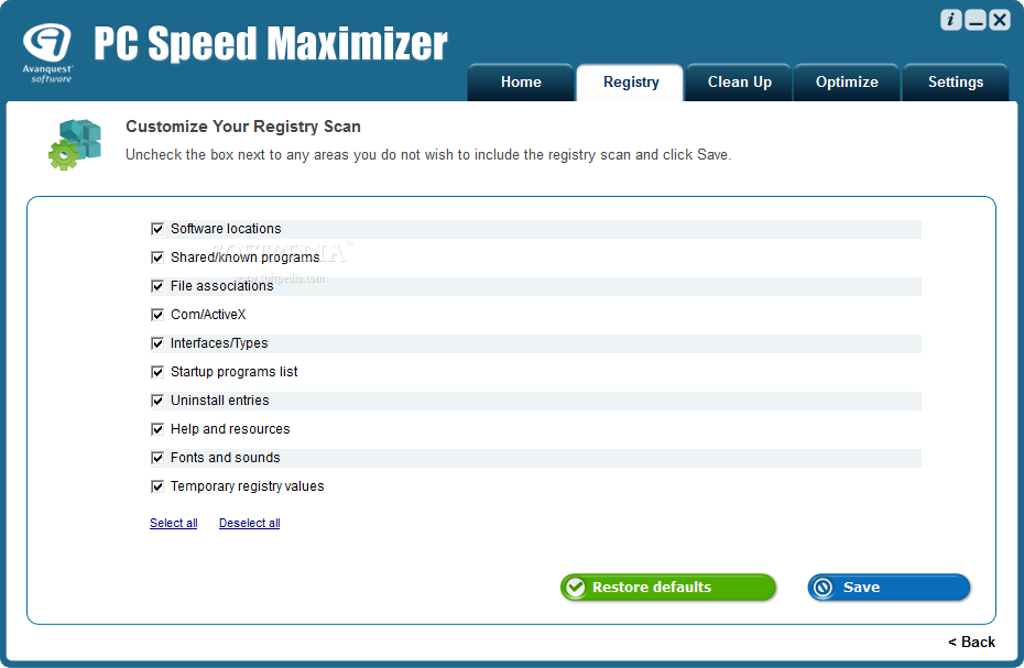 PC Speed Maximizer 3 - Speed up and optimise your PC in a few clicks