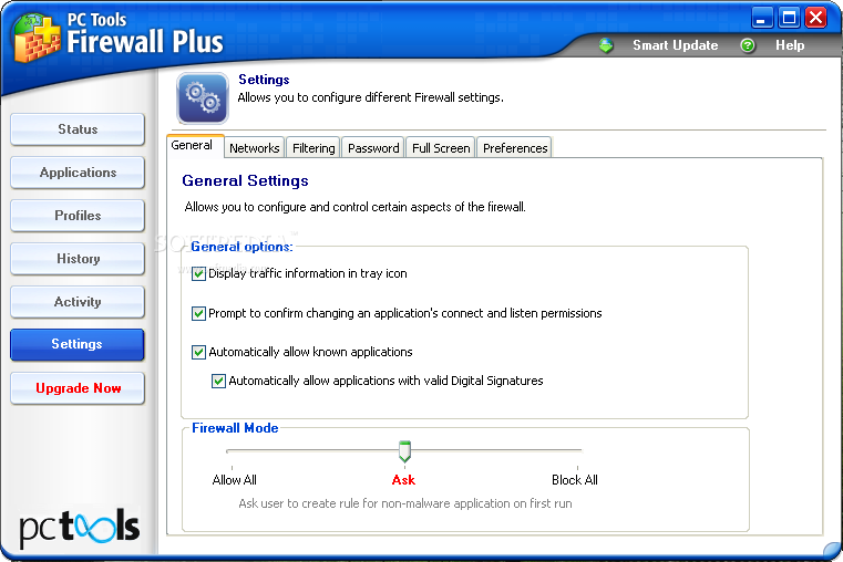 how to turn on pc firewall