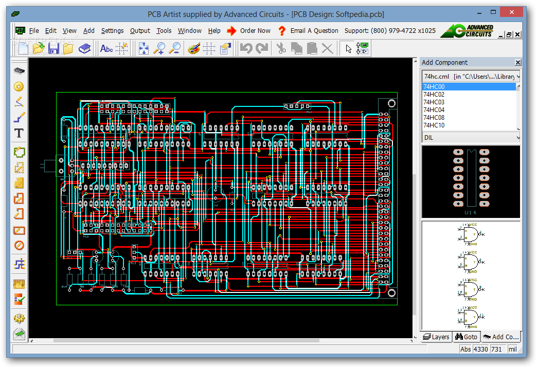 Download PCB Artist 2.0