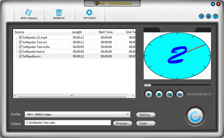 PCHand Video Converter Download