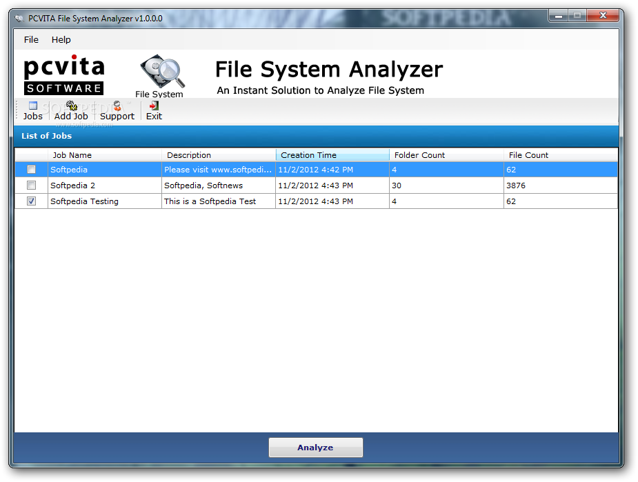 PCVITA File System Analyzer Download: http://www.softpedia.com/get/System/System-Miscellaneous/PCVITA-File-System-Analyzer.shtml