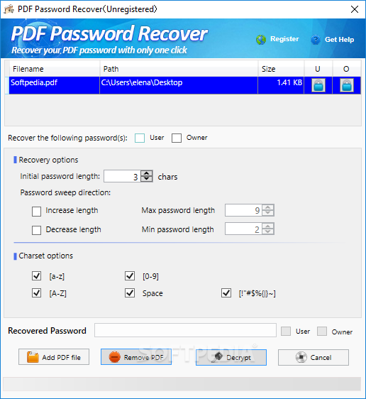 how to put password to pdf