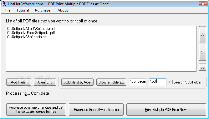 Download PDF Print Multiple PDF Files At Once 2 0