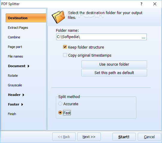 Pdf Splitter Software