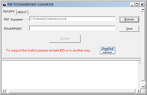 Download PDF to PowerPoint Converter 1 1