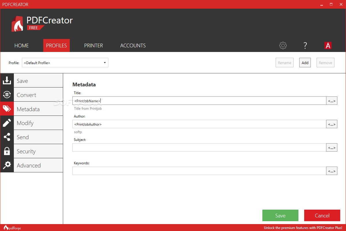 Download PDFCreator 3 5 1 Build 7201
