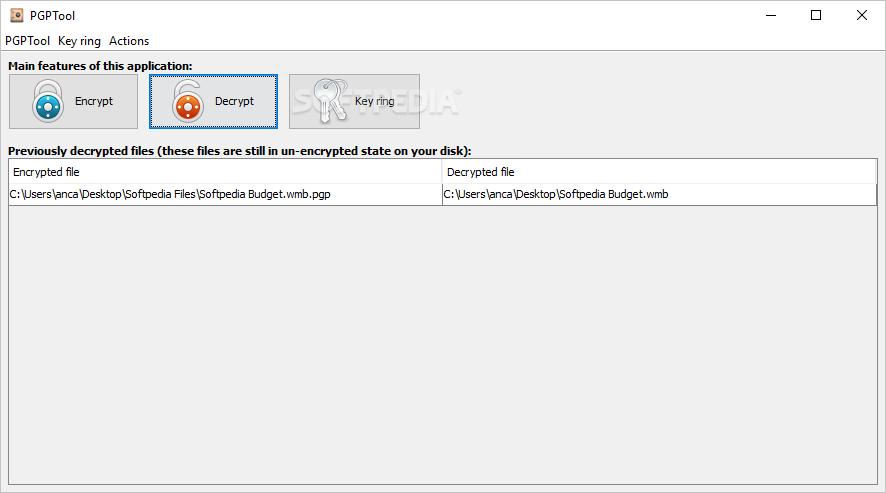 Download PGPTool 0 5 4 0