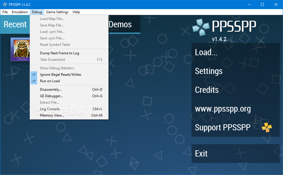 Download PPSSPP Portable 1 8 0 / 1 8 0 500 Daily