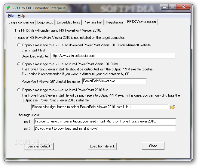download pptx to exe converter enterprise 5 25
