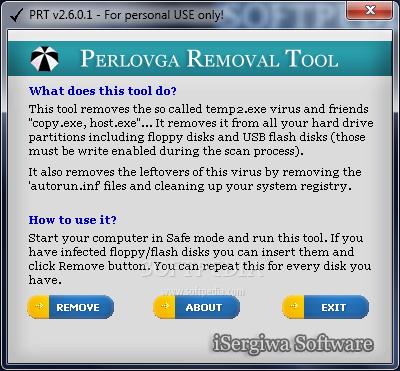 perlovga removal tool