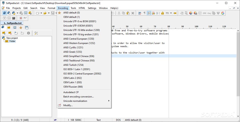 Download PSPad 5.0.2 Build 315
