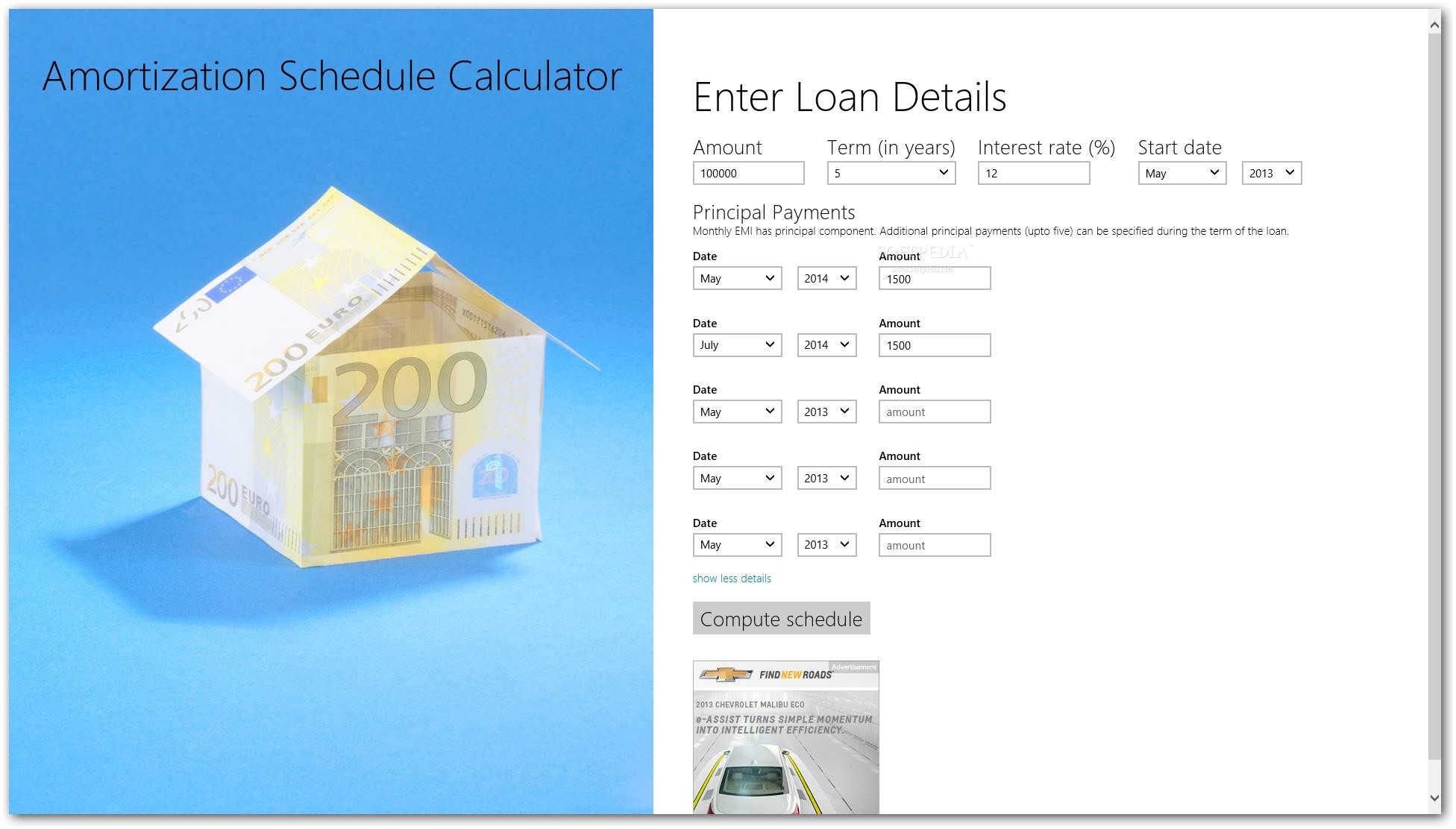 download amortization schedule calculator 0 3 0 4