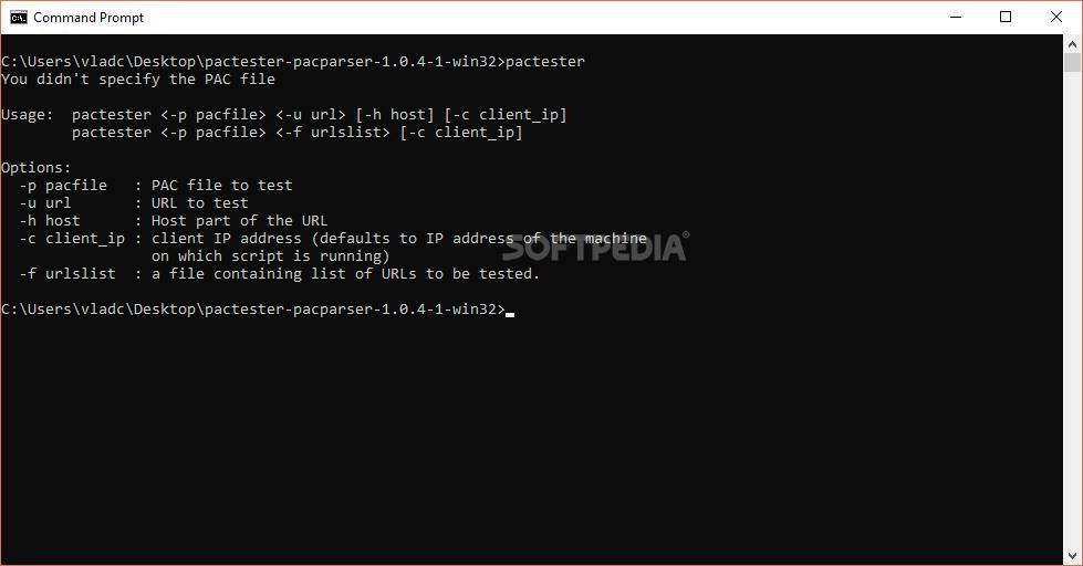 Download Pactester 1 0 8