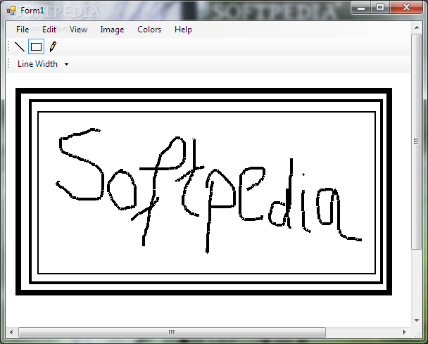 how to draw on screenshots windows