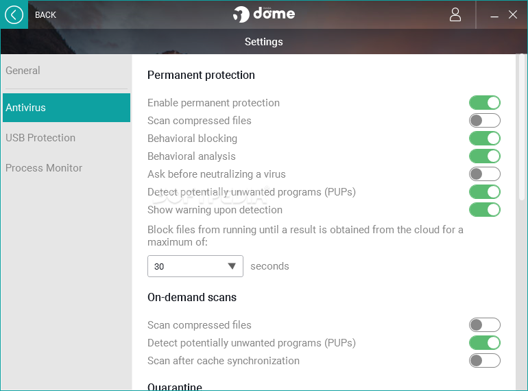 Download Panda Free Antivirus (Panda Dome) 18 07 04