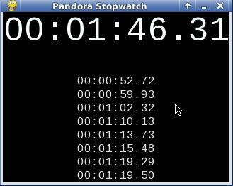 Download Pandora Stopwatch 1 1 0