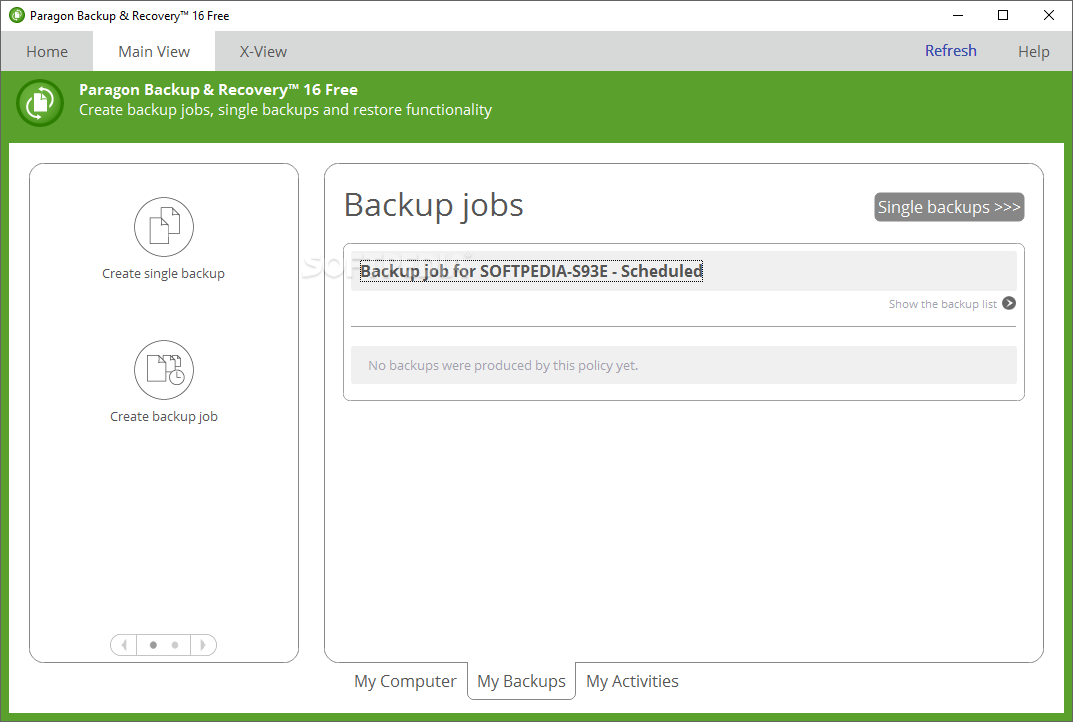 Download Paragon Backup & Recovery Free 17 10 4 0 3523