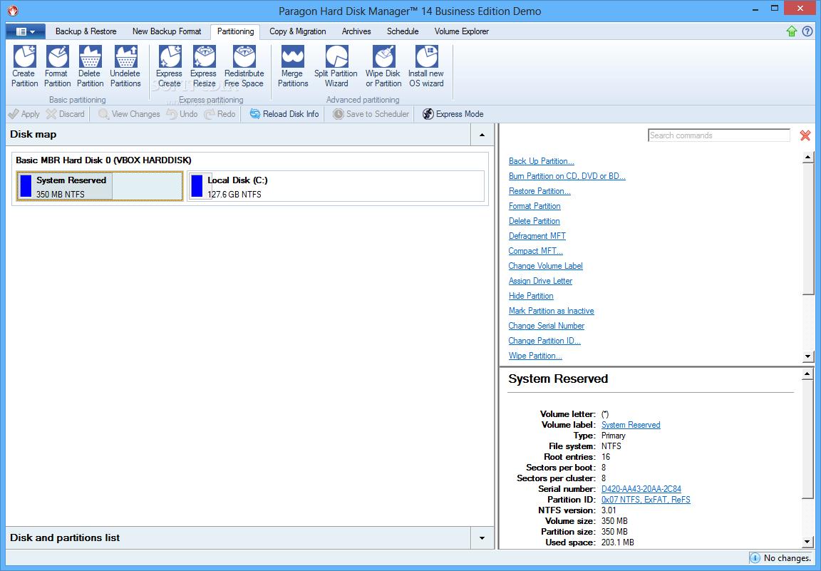 Download Paragon Hard Disk Manager 15 Business 10 1 25 813 (Build 16 09 15)