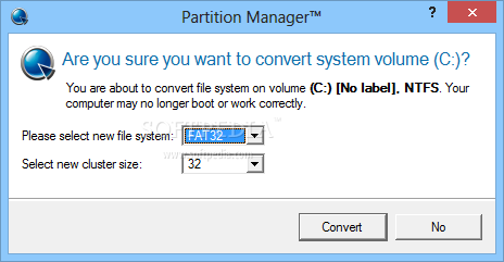 how to create system reserved partition 14gb windows 7