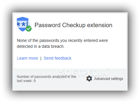 Download Password Checkup for Chrome 1 12