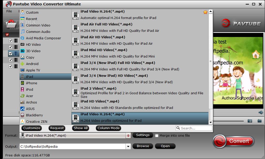 pavtube video converter ultimate free download
