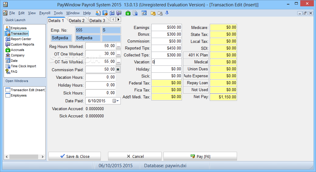 payroll system of manufacturing company Payroll system - sample completed worksheet from the payroll and hr rfi/rfp template.