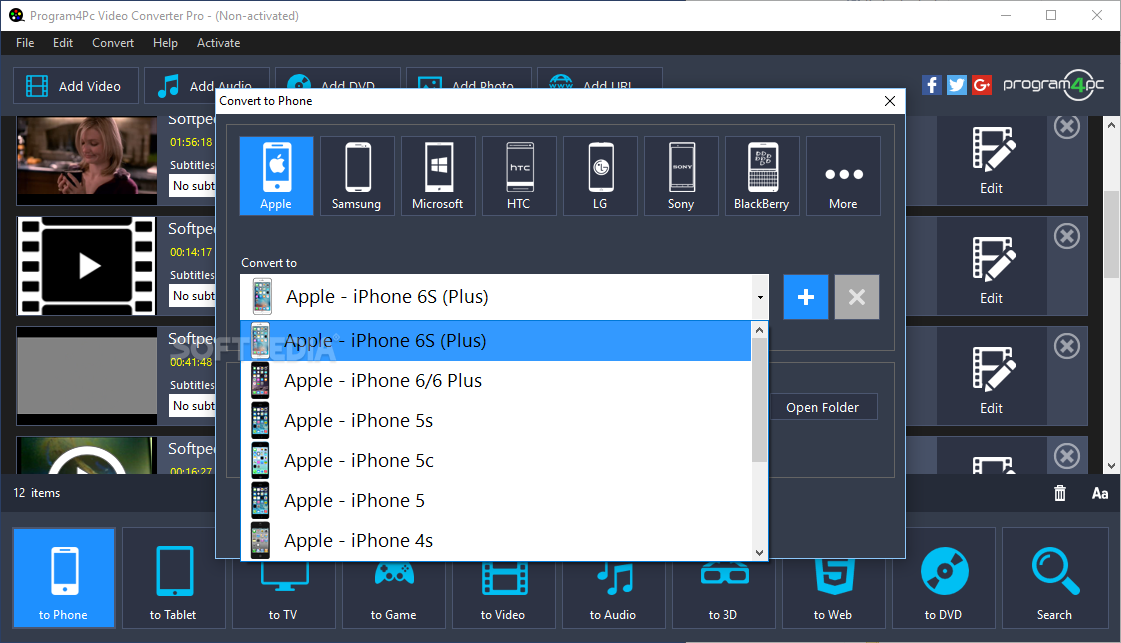 Download Program4Pc Video Converter Pro 10 3 0
