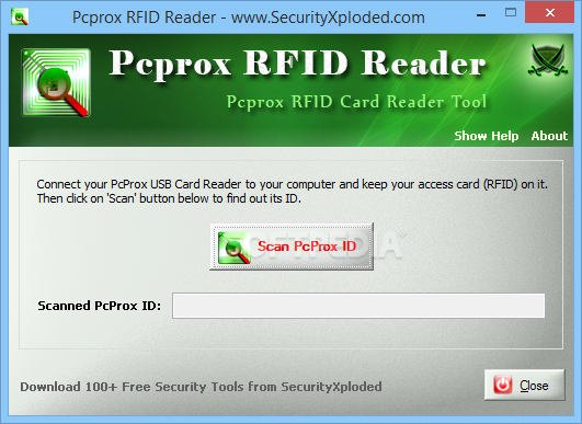 Download Pcprox RFID Reader 3 0