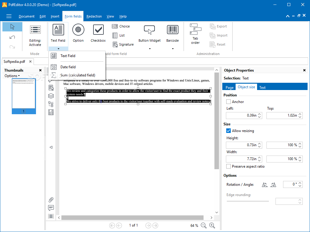 pdf editor software for windows