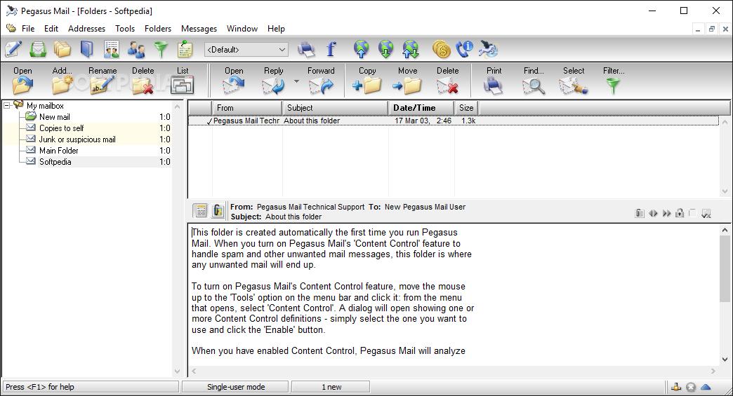 Download Pegasus Mail 4 73 639