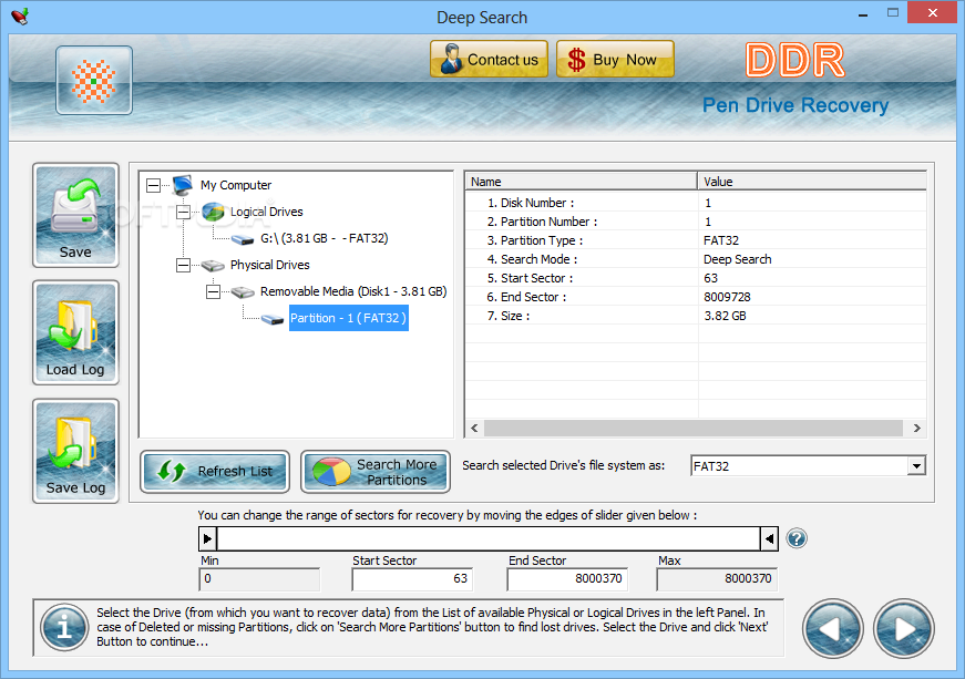 ddr pen drive recovery software free download