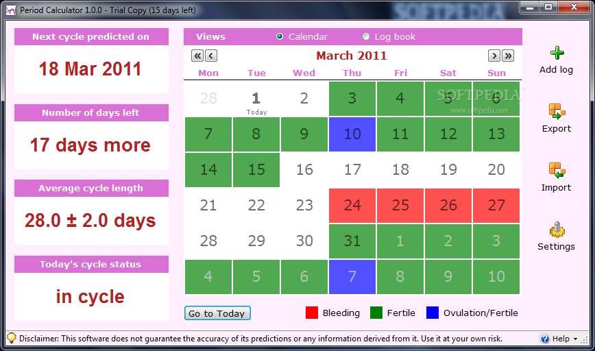 due date calculator that will display the due date conception date ...
