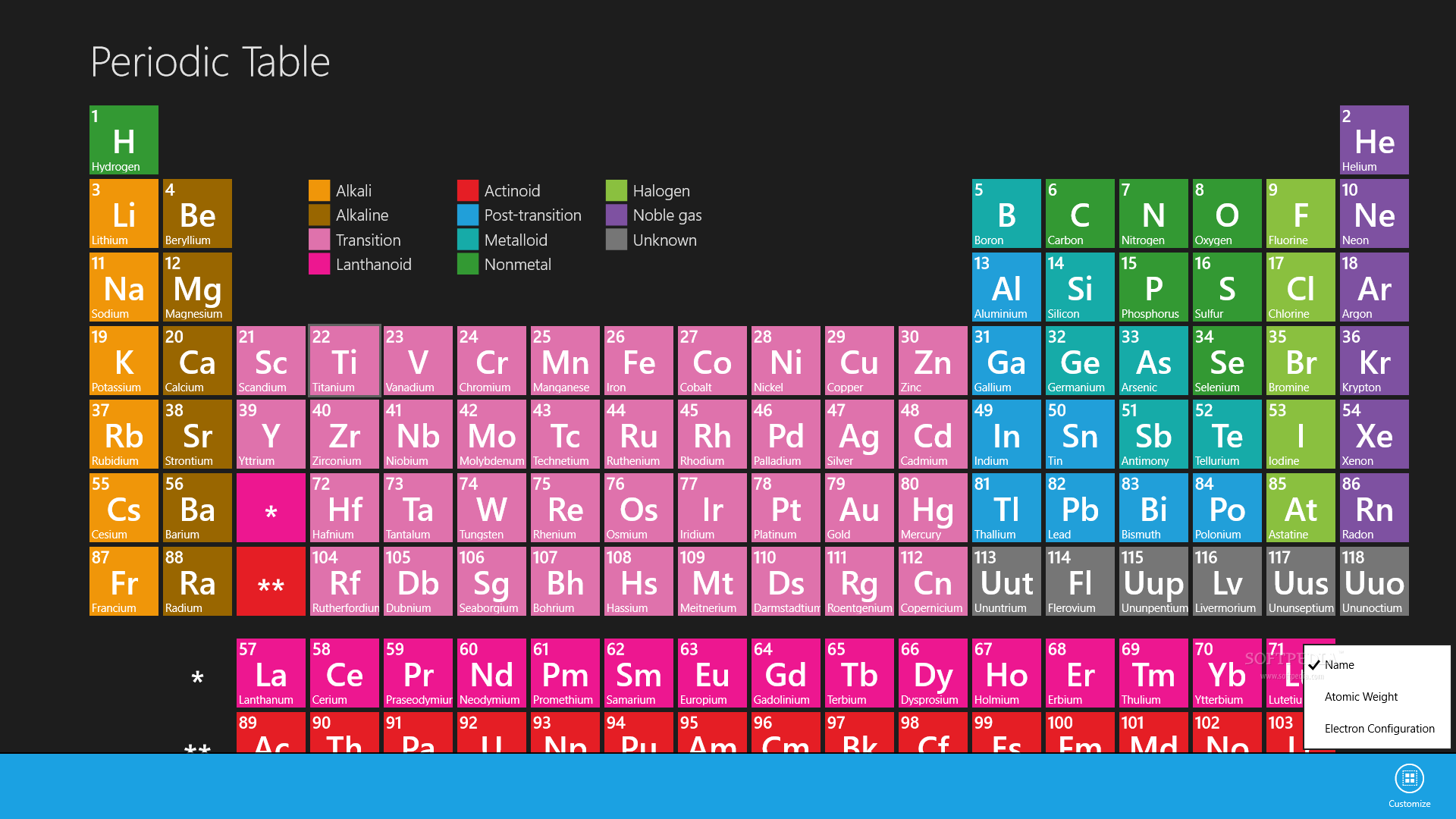 Download periodic table for windows 1081 117039 urtaz Choice Image