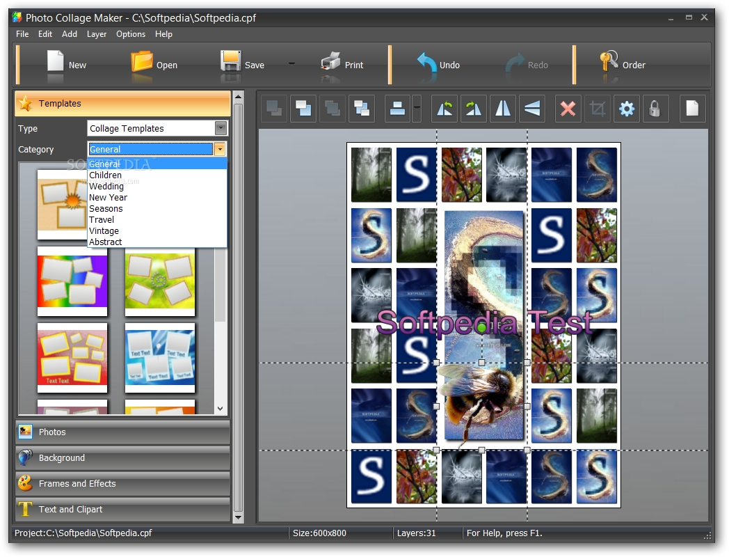 collage maker templates free download - photo collage maker download