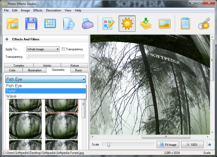 Photo effects studio 2.81 decorate your photos with various effects