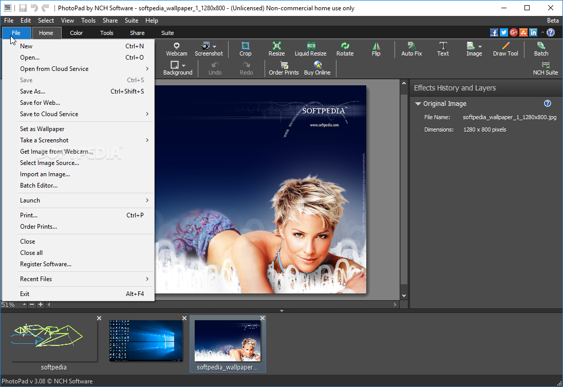 Download PhotoPad Photo and Image Editor 5 30