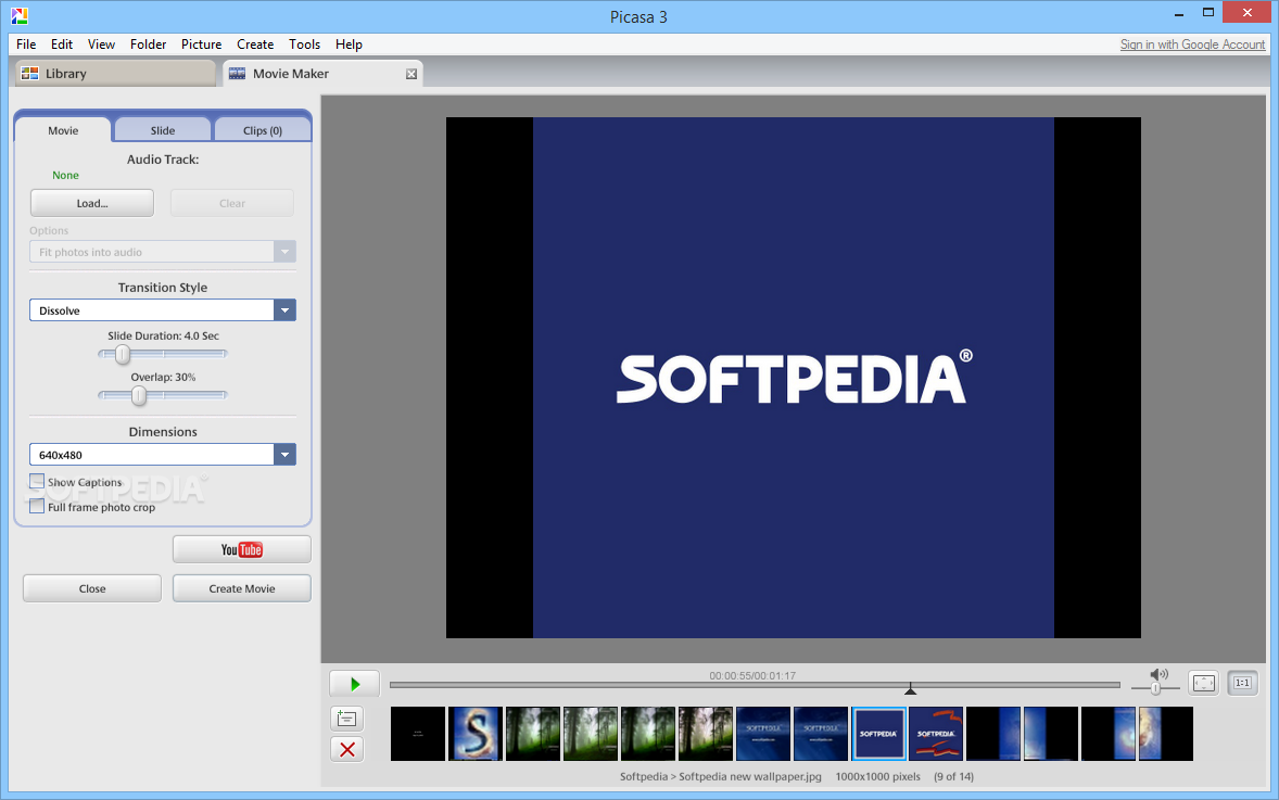 How to get the final Picasa version - Photos Resources