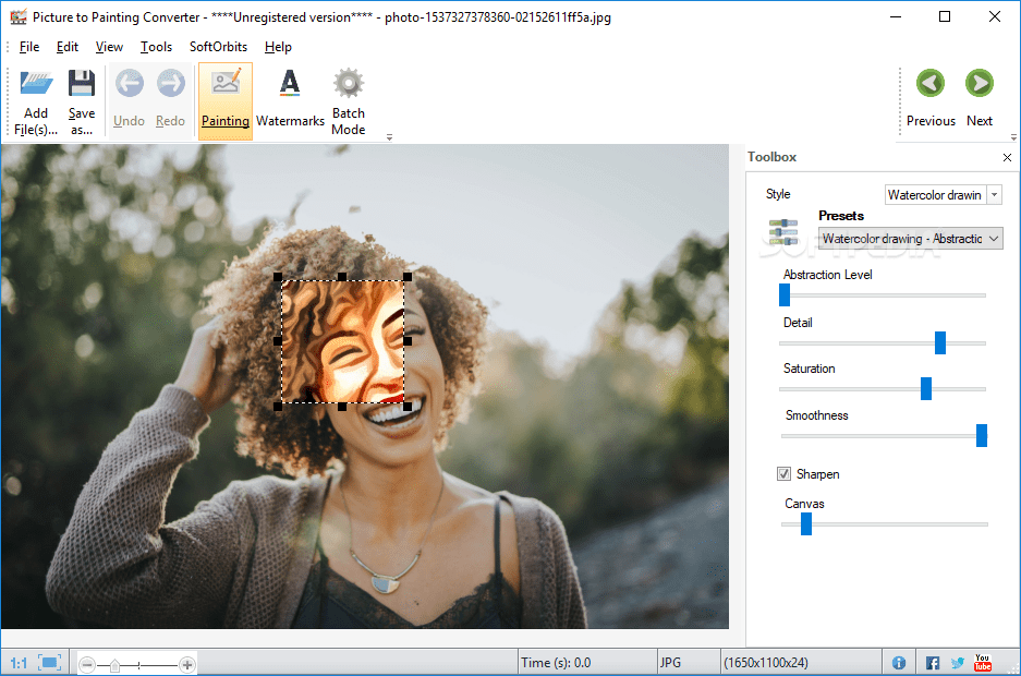 Picture to painting converter | turn photo into oil painting.