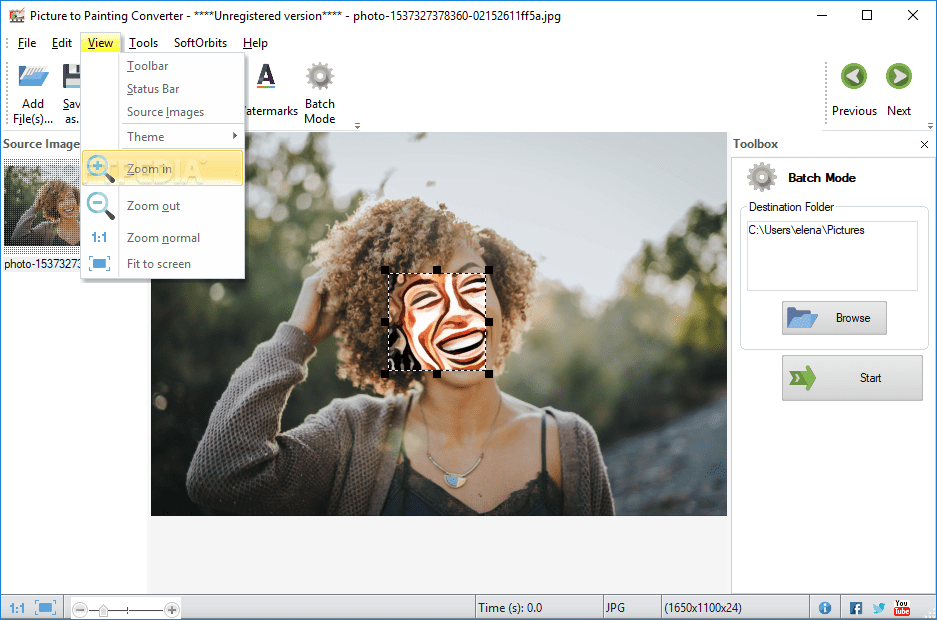 Download picture to painting converter 1. 0.