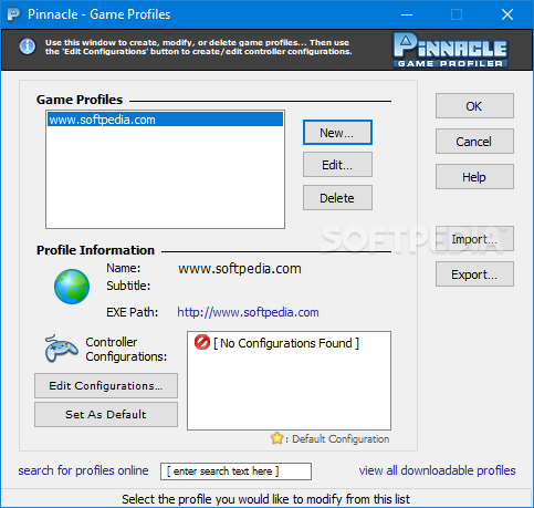 pinnacle game profiler no activation key