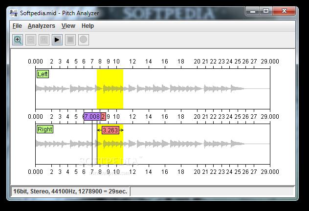 Download Pitch Analyzer 2 1 2 Build 69