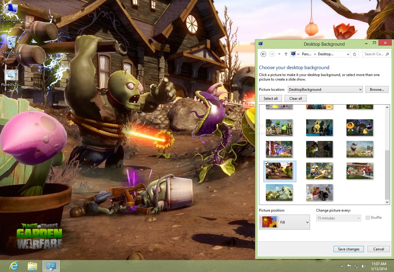 Download Plants vs. Zombies: Garden Warfare Theme